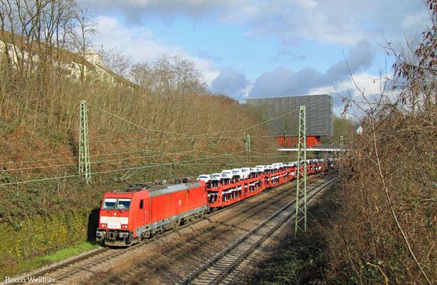 186 327 mit EZ 49266 Einsiedlerhof - Vaires-Torcy/F (Villers-Cotterets), Saarbrücken 23.02.2016