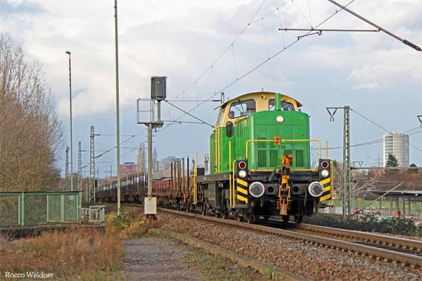 295 049 mit DGS 92631 Spellen (Niederrhein) - Koblenz-Lützel, Gremberg 03.02.2016