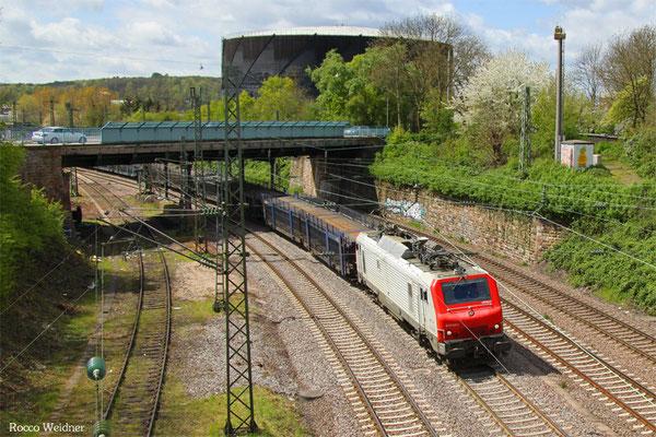 BB37531 mit DGS 95558 Forbach/F - Saarbrücken Rbf Nord (Sdl.), 26.04.2016