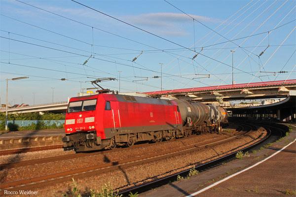 152 101 mit EK 55710 Mannheim Rbf Gr.G - Ludwigshafen BASF Gbf, Ludwigshafen/Rhein Hbf 02.06.2015