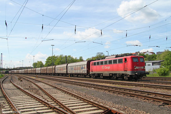 140 327 mit XP 49213 Cerbere/F - Mannheim Rbf Gr.M, Neunkirchen(Saar) Hbf 15.05.2015
