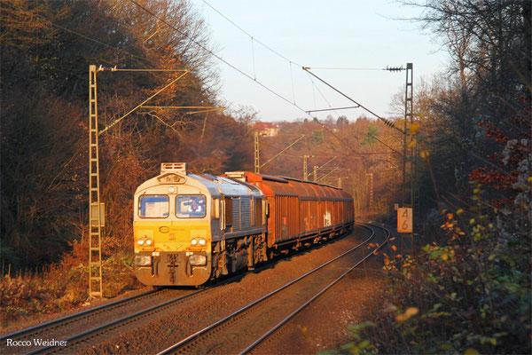 77 028 mit EZ 47256 Saarbrücken Rbf West - Forbach/F (Gretz-Armainvilliers), Saarbrücken 03.12.2015