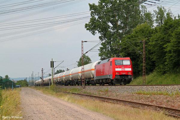 152 046 mit GC 49248 Marl-Hüls AG - Saarbrücken Rbf Nord (Creutzwald/F), Ensdorf(Saar) 11.06.2015