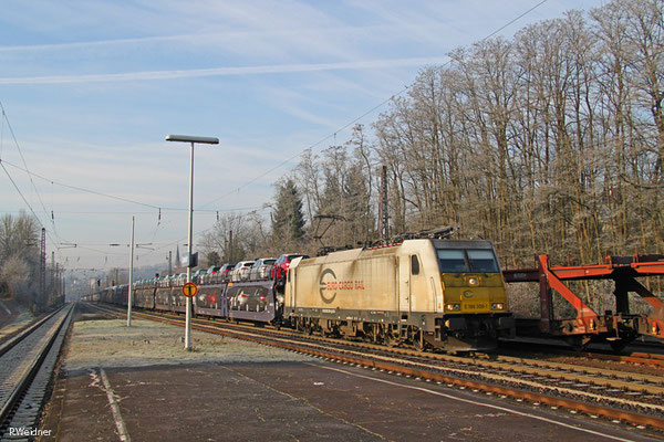 ECR 186 309 mit GA 48213 Gevrey/F - Mannheim Rbf Gr.K, Dudweiler 06.01.15