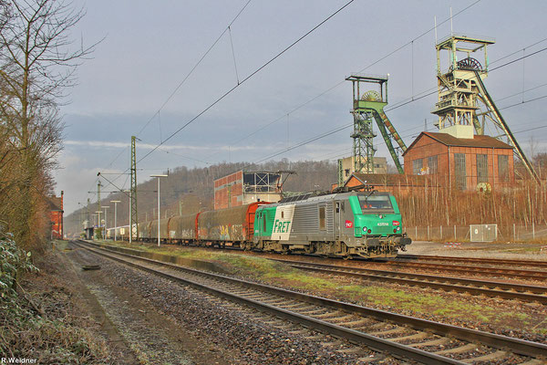 BB37014 mit DGS 99774 Luisenthal(Saar) - Forbach/F. am 25.01.14 in Luisenthal
