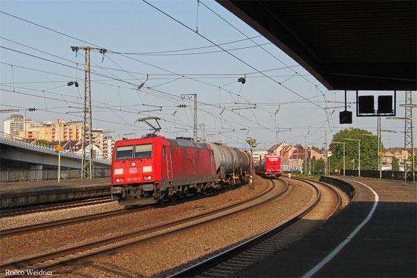 185 232 mit GC 47563 (Antwerpen-Noord) Aachen West - Ludwigshafen BASF Gbf, Ludwigshafen/Rh Hbf 17.07.2015