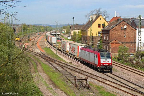 000 4016 mit DGS 41565 Bettembourg-Marchandises/L - München Laim Rbf, Bous 21.04.2016