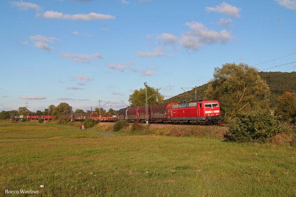181 211 mit EZ 51912 Mannheim Rbf Gr.G - Saarbrücken Rbf Nord, Bruchmühlbach 04.10.2015
