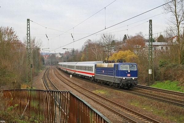 181 201 mit IC 2351 Saarbrücken Hbf - Stuttgart Hbf am 19.01.14 in SB-St.Johann