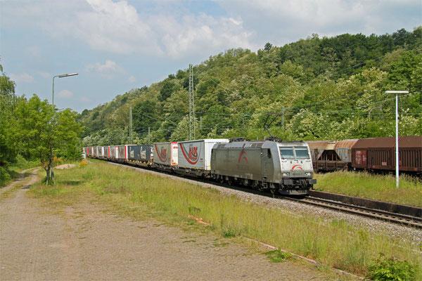 TXL 185 531mit DGS 43513 von Bettembourg/L - München Laim Rbf, Luisenthal(Saar) 22.05.2015