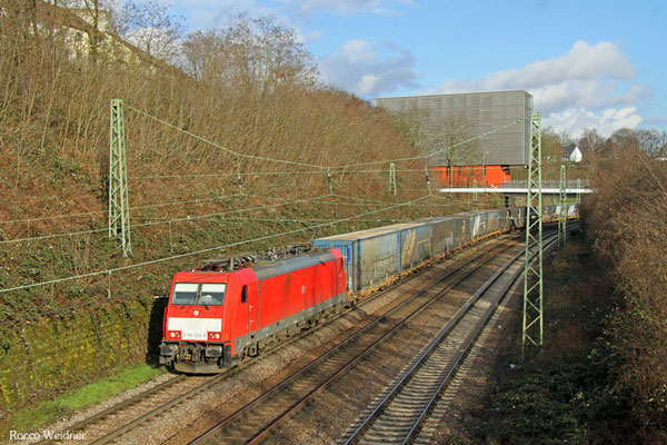 186 339 mit  GA 49240  München Ost Rbf - Nosiy-le-Sec/F, Saarbrücken 23.02.2016