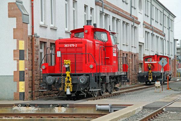 363 679 in Mannheim Rbf, 09.04.2016