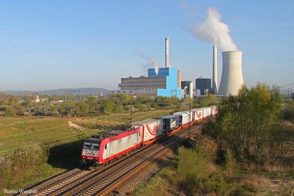 CFL 4005 mit DGS 43513 Bettembourg/L - München-Laim Rbf, Ensdorf(Saar) 21.04.2015