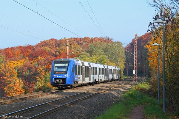 620 415 als RE 29514Frankfurt/Main Hbf - Saarbrücken Hbf (Umleiter), Fischbach-Campausen 01.11.2015