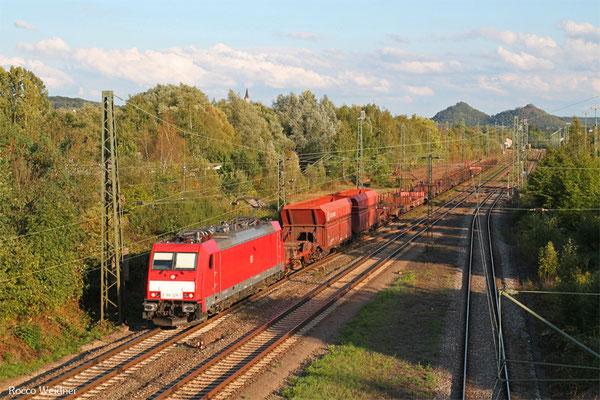 186 328 mit EK 55922 Saarbrücken Rbf West - Dillingen Hochofen Hütte, Bous(Saar) 03.09.2015