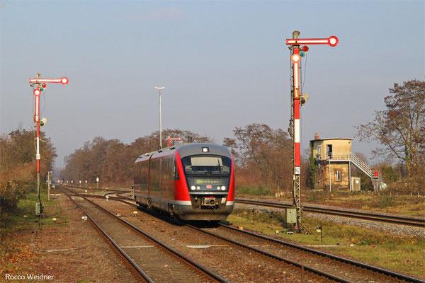 642 092 als RB 28119 Bad Bergzabern - Winden(Pfalz), 14.12.2015