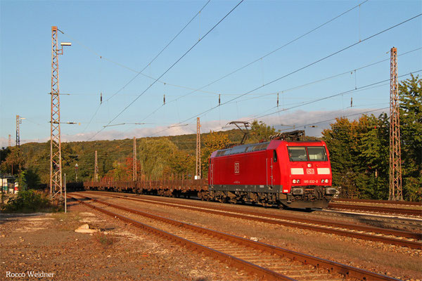 185 032 mit GM 60527 Kehl - Ehrang Nord, Dudweiler 04.10.2015