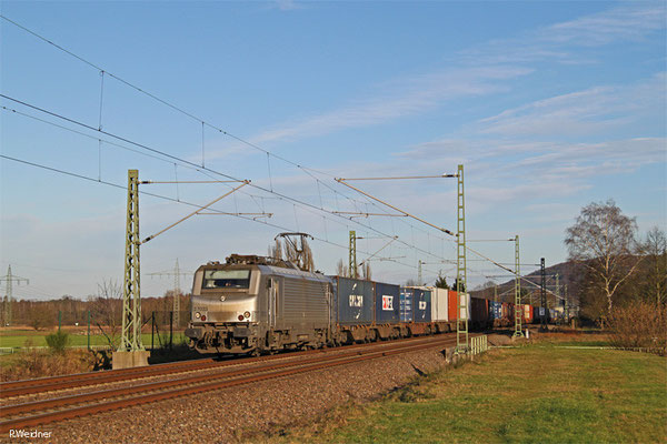 BB37033 mit DGS 42226 Ludwigshafen (Rhein) BASF Ubf - Lyon-Guillotiere (KV),  Vogelbach 13.01.15