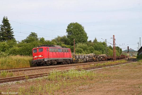 140 799 mit EK 55922 Saarbrücken Rbf West - Dillingen Hochofen Hütte, Bous 17.06.2015