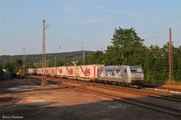 TXL 185 540 mit DGS 43512 München-Laim Rbf - Bettembourg/L, Dudweiler 11.06.2015
