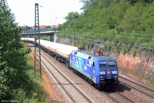 152 136 mit XP 49248 Hüls AG - Forbach/F (Creutzwald), Saarbrücken 16.07.2015