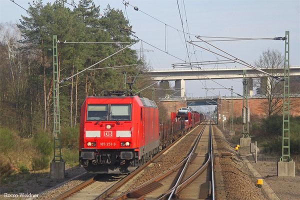 186 251 mit EZ 51916 Mannheim Rbf Gr.G - Saarbrücken Rbf Nord, Landstuhl 18.02.2016