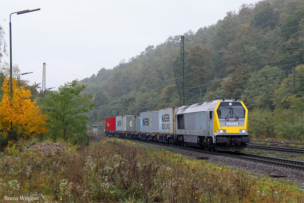 263 004 mit DGS 90972 Dillingen(Saar) - Mainz Hbf, Luisenthal 23.10.2015