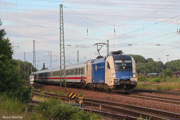 182 521 (i.E. für DB FV) mit IC 2052 Stuttgart Hbf - Saarbrücken Hbf, Einsiedlerhof 14.07.2015