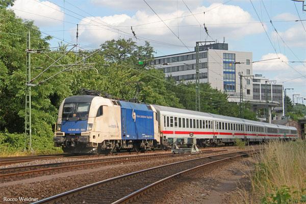 182 521 (i.E. für DB FV) mit IC 2056 Heidelberg Hbf - Saarbrücken Hbf 15.07.2015