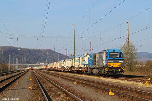 273 101(i.E. für Railflex) mit DGS 25598 Delmenhorst Df - Ehrang Nord (Sdl.), Ehrang 08.04.2015