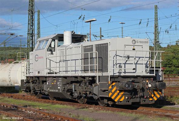 ECR 0001 006 (Rev LS X 08.09.15) wartet auf Überführung nach Frankreich, Saarbrücken 18.09.2015
