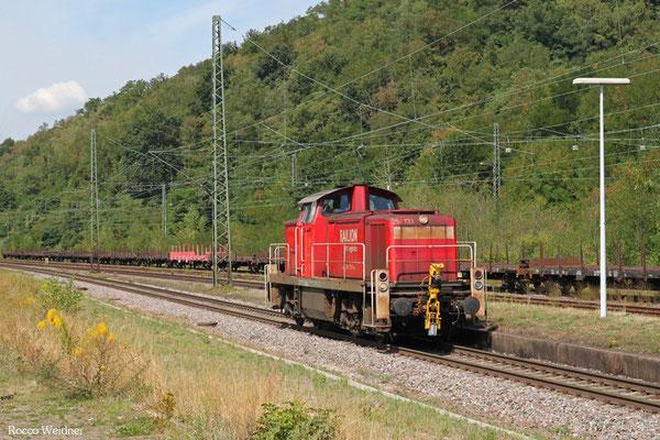 294 733 als T 77037 Völklingen - Mannheim Rbf Gr.K (Sdl.), Luisenthal(Saar) 20.08.2015