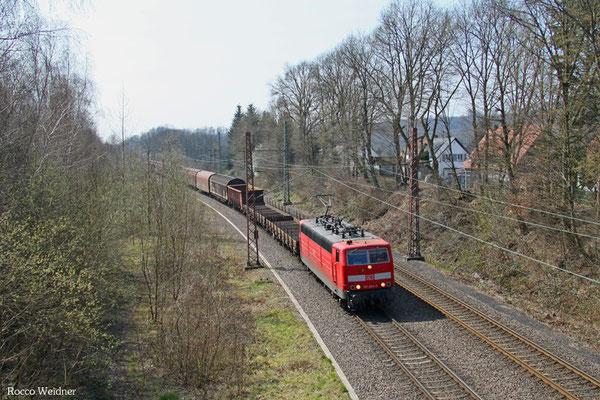 181 204 mit EK 55883 Saarbrücken Rbf West - Neunkirchen(Saar) Hbf, Fischbach-Camphausen 08.04.2015