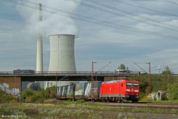 185 178 mit GA 52980 Köln-Eifeltor Bez III - Saarbrücken Rbf Nord, Bous  16.09.2015