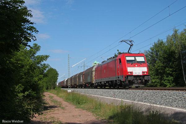 186 338 mit EZ 47244 Einsiedlerhof - Forbach/F (Survilliers Foss), Kindsbach 14.06.2015