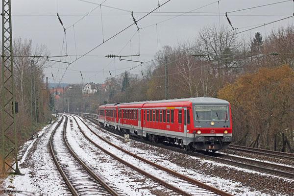 628 476 als Lr 70572 Saarbrücken Hbf - Kaiserslautern Hbf (Sdl.), Saarbrücken St.Johann 28.01.15