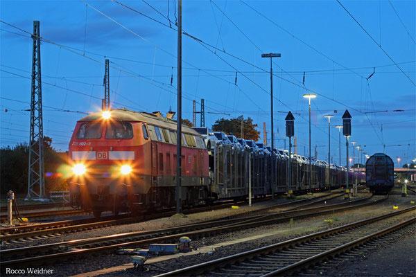 218 002 mit XP 49232 Einsiedlerhof - Forbach/F (Cerbere), 18.09.2015