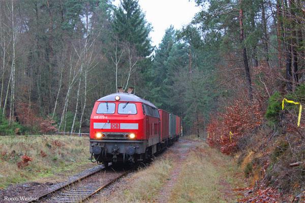 225 073 mit M 62653 Bremerhaven-Speckenbüttel - Eselsführt (Sdl.), 17.12.2015