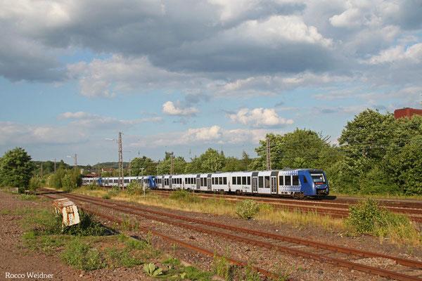 VLEXX RE 29526 Frankfurt(Main)Hbf - Saarbrücken Hbf, Sulzbach(Saar) 09.07.2015