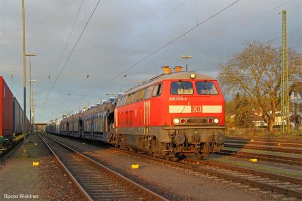 225 073 mit XP 49246 Einsiedlerhof - Forbach/F (Cerbère), 13.04.2016