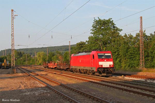 186 336 mit GM Neunkirchen(Saar) Hbf - Völklingen, Dudweiler 11.06.2015