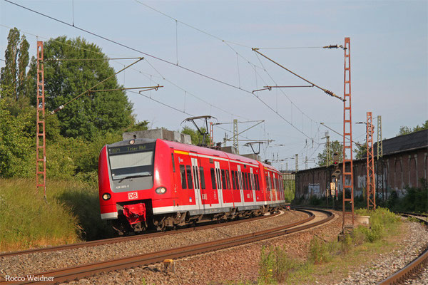 426 005 als RB 33748 Völklingen - Trier Hbf, Bous 07.06.2015