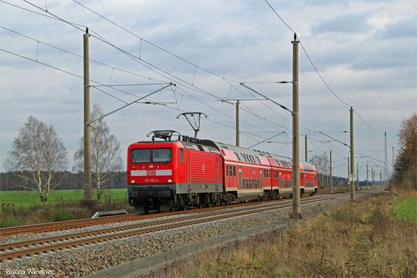 112 152 mit RB 28749 Cottbus - Falkenberg(Elster), Beiersdorf 23.12.2015