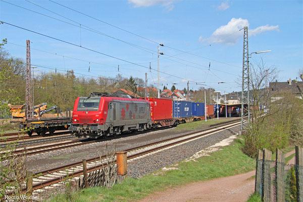 BB37017 (VFLI) mit DGS 42226 Ludwigshafen (Rhein) BASF Ubf nach Lyon-Guillotiere/F (Umleiter), 14.04.2015