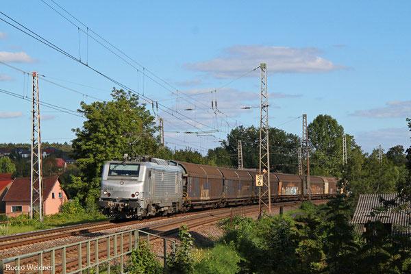 BB37034 mit DGS 75208 Saarbrücken Rbf Nord - Beddingen VPS (Sdl. Stahl), Beckingen 27.09.2015