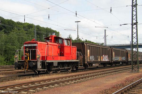 363 240 rangiert am 21.06.2015 in Saarbrücken Rbf