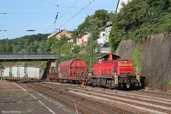 294 589 Bedienung Wagenwerkstatt Saarbrücken Rbf Nord, 22.07.2015