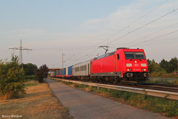 185 270 mit M 47186 Passau Gbf - Hauptstuhl (Sdl.), Neustadt(W) 17.07.2015