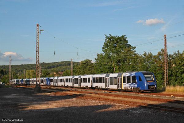 VLEXX-Dreifachtraktion, Dudweiler 24.06.2015