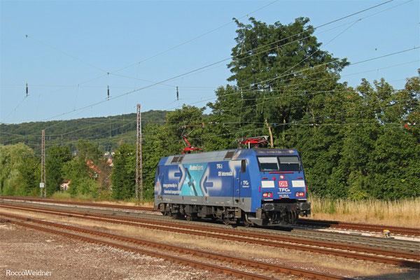 152 136 als T 60546 Neunkirchen(Saar) Hbf - Völklingen, Dudweiler 16.07.2015